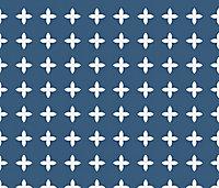 Adhésif Draeger la carterie étoile bleu 15 x 15 cm