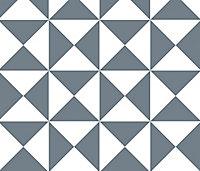 Adhésif Draeger la carterie triangle noir 15 x 15 cm