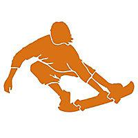 Pochoir adhésif Skate boarder 420 x 460 mm