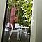 Chaise de jardin en résine Charlotte Déco gris