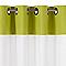 Voilage Spring vert anis 145 x 240 cm