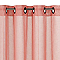 Voilage Calvi corail rose mat 140 x 240 cm
