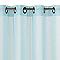 Voilage Calvi bleu ciel mat 140 x 240 cm
