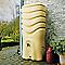 Récupérateur d'eau Eda Récup'O 350L beige + collecteur