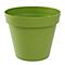 Pot rond polypropylène Eda Pop pistache Ø48 x h.40 cm