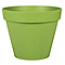 Pot rond polypropylène Eda Toscane matcha ø40 x h.31 cm