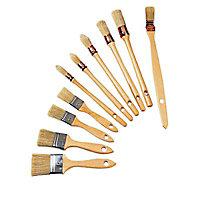 10 pinceaux professionnels