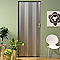 Porte extensible PVC aluminium Spacy 205 x 84 cm