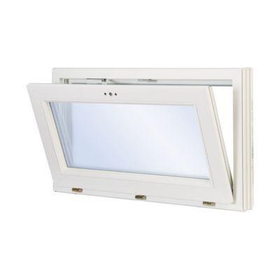 Fenêtre Abattant Pvc Blanc 80 X H45 Cm Castorama
