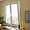 Fenêtre pvc 2 vantaux oscillo-battants tirant droit GROSFILLEX blanc - 100 x h.115 cm