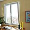 Fenêtre pvc 2 vantaux oscillo-battants tirant droit GROSFILLEX blanc - 140 x h.115 cm