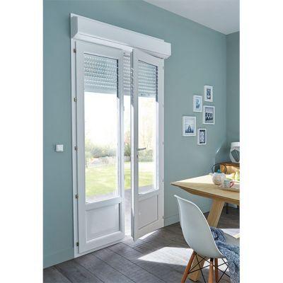 Porte Fenêtre Pvc 2v 80 X H215 Cm Tdroit Volet Roulant Castorama