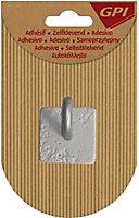 Crochet à béton coloris gris
