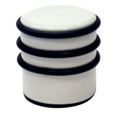 Bloque porte 1 2 kg blanc laqu castorama for Bloque porte castorama