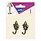 Crochet fleur de lys GPI petit modèle bronzé