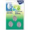 3 crochets ovale GPI petit modèle adhésifs métal mat