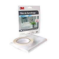 Film De Survitrage 3m Fenetre Transparent 2 X 1 5 M Castorama