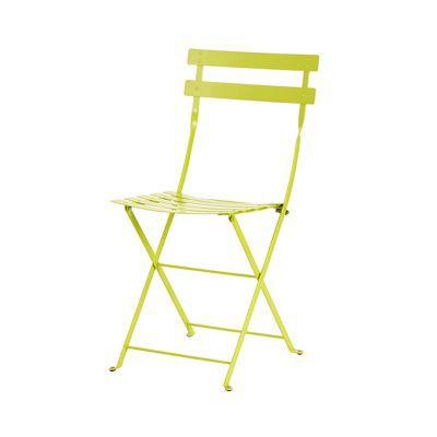chaise de jardin bistro verveine pliante castorama. Black Bedroom Furniture Sets. Home Design Ideas