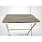 Galette de chaise rectangulaire Bistro muscade 37,5 x 29 cm