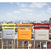 Galette de chaise rectangulaire Bistro carotte 37,5 x 29 cm Fermob
