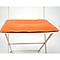 Galette de chaise rectangulaire Bistro carotte 37,5 x 29 cm