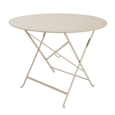 Table de jardin Bistro ø96 cm brun noisette