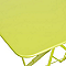 Table de jardin Bistro verveine pliante 77 x 57 cm