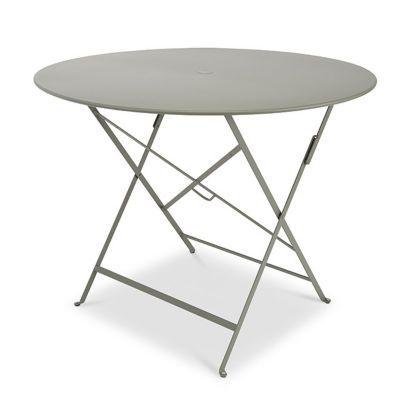Table de jardin Bistro ø96 cm vert romarin