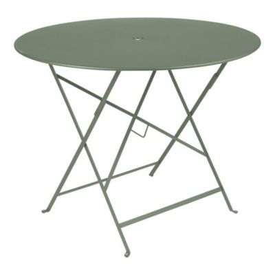Table de jardin Bistro vert cactus pliante ø96 cm