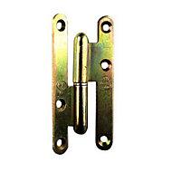 Paumelle gauche bronze 140 x 60 mm