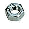 4 Ecrous hexagonaux Inox A4 12 mm