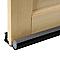 Bas de porte PLASTO Illico + gris 93 cm
