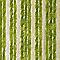 Rideau de porte Chenille 100 x 220 cm beige vert