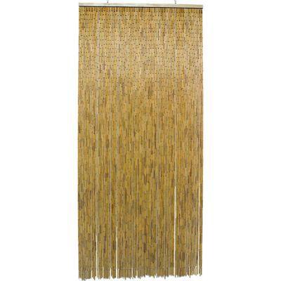 Rideau de porte bambou naturel 90 x 200 cm castorama - Rideaux de porte exterieur ...