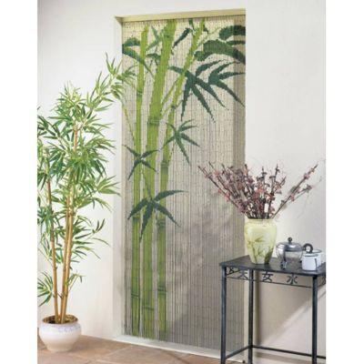 rideau de porte bambou 90 x 200 cm castorama. Black Bedroom Furniture Sets. Home Design Ideas