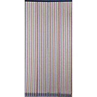 Moustiquaire de porte multirayures 100 x 220 cm