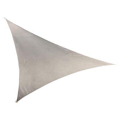 voile d 39 ombrage triangle morel taupe 500 cm castorama. Black Bedroom Furniture Sets. Home Design Ideas