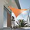 Voile d'ombrage triangle Morel terracotta 360 cm