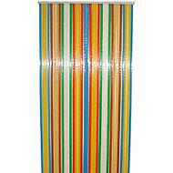 Rideau de porte arc en ciel 90 x 220 cm