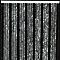 Rideau de porte chenilles Florence gris et noir 90 x 220 cm