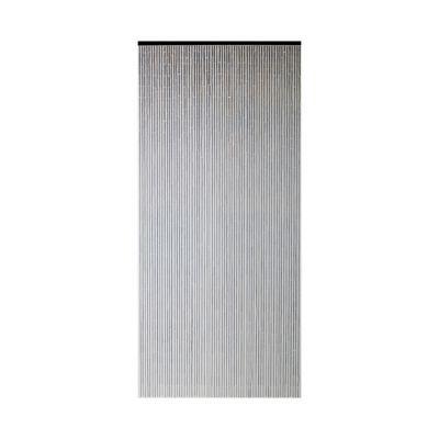 Rideau de porte bambou taupe 90 x 200 cm