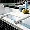 Planche de bain blanc