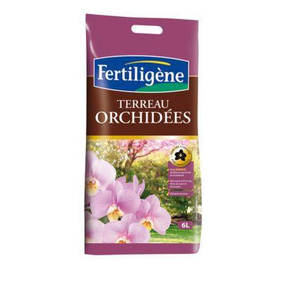 Terreau orchidées Fertiligène 6L | Castorama