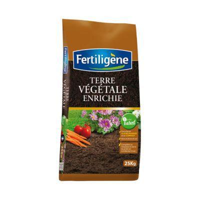 Terre v g tale enrichie fertiligene 25kg castorama for Castorama mon compte
