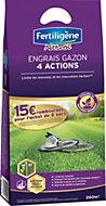 Engrais gazon 4 actions Fertilgène 260m²