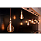 Ampoule filament spirale ambre E27 globe ø95 mm 40W blanc chaud