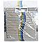 Grille d'aération inox Autogyre à persiennes sans moustiquaire 200 x 200 mm