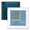 Grille alu cadre blanc + Précadre 150 x 600 mm