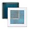 Grille alu cadre blanc + Précadre 80 x 220 mm