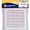 Grille de ventilation à clipser 100 x 100 mm coloris blanc